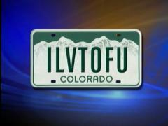 Funny License Plates - I Love Tofu